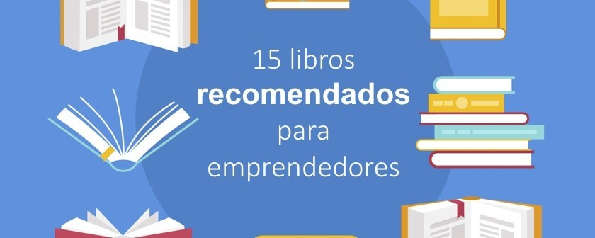 15 libros recomendados para emprendedores (+Bonus)
