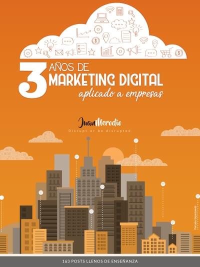 3 años de Marketing Digital aplicado a empresas