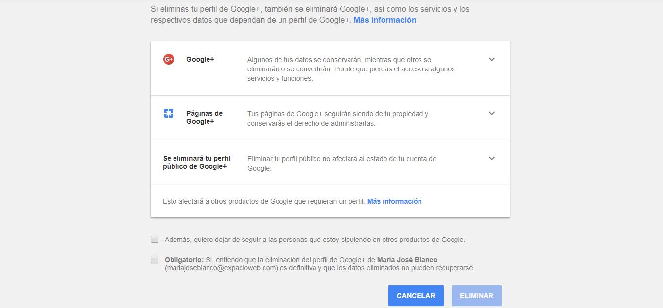 Google anuncia el cierre de Google+