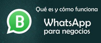 Qué es y cómo funciona WhatsApp para negocios - Francisco Rubio
