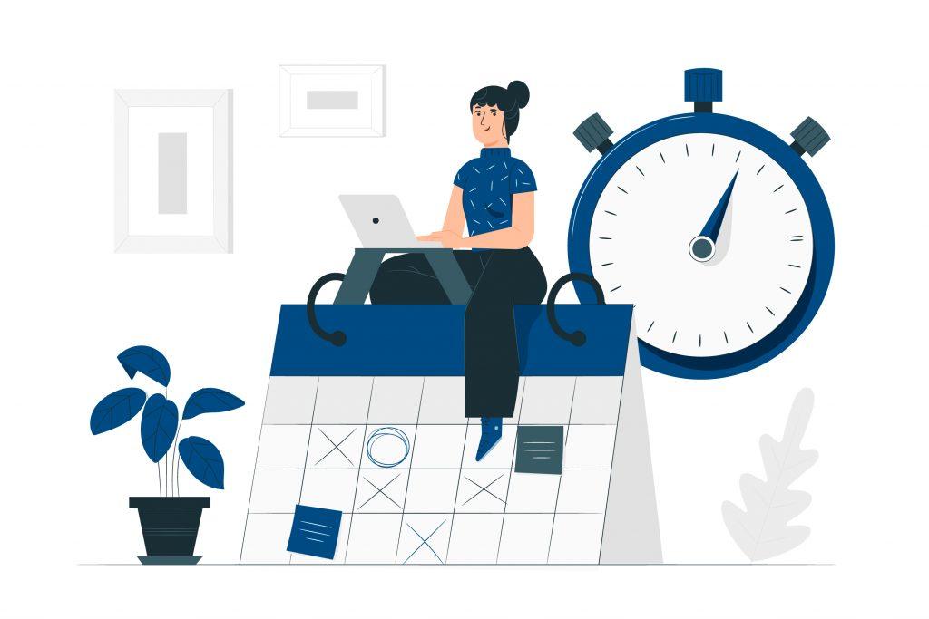 Gestiona tu tiempo para emprender online